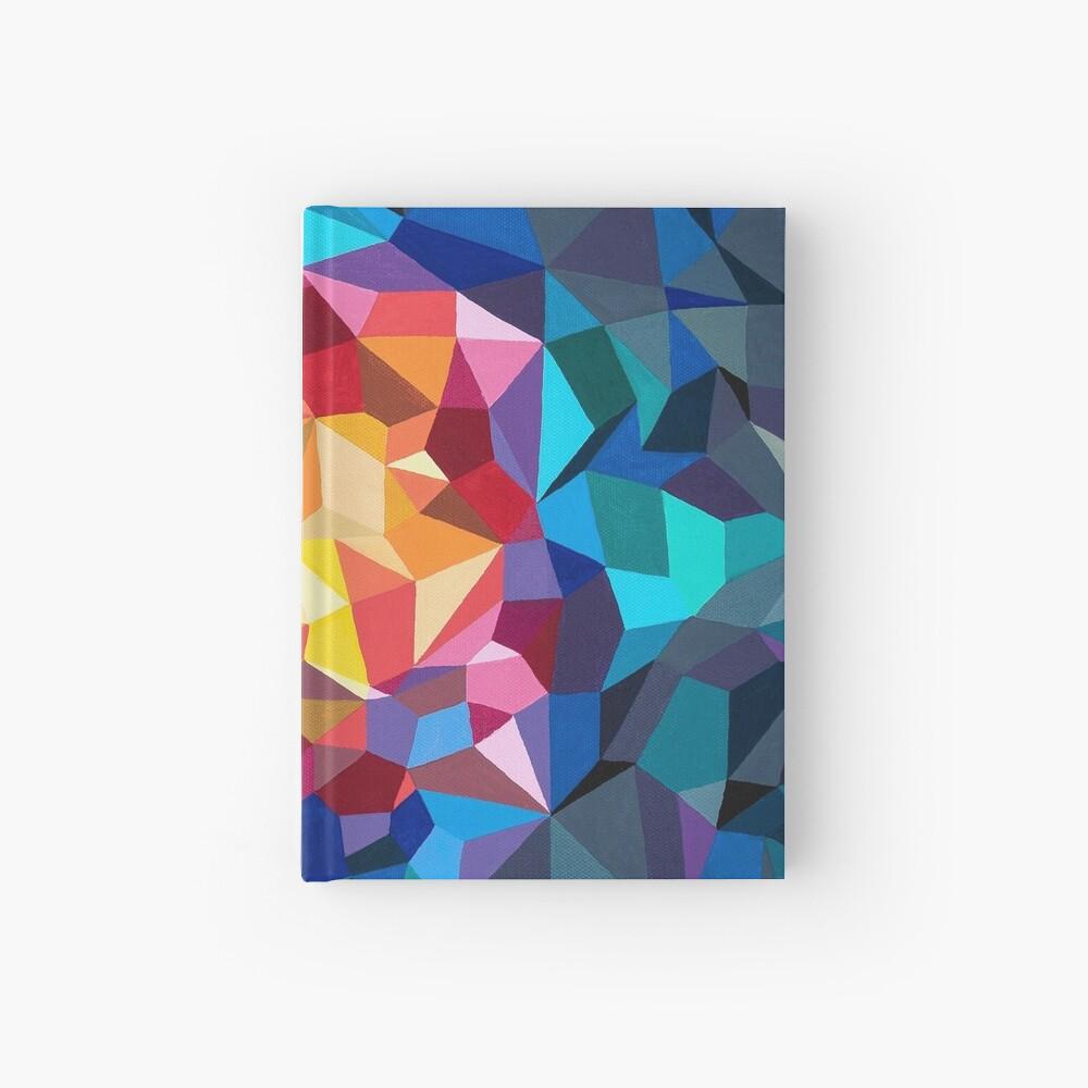 Pintura geométrica multicolor Cuaderno de tapa dura