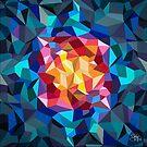 «Pintura geométrica multicolor» de artetbe