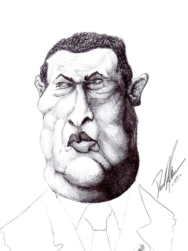Chavez Caricature by liquidnerve