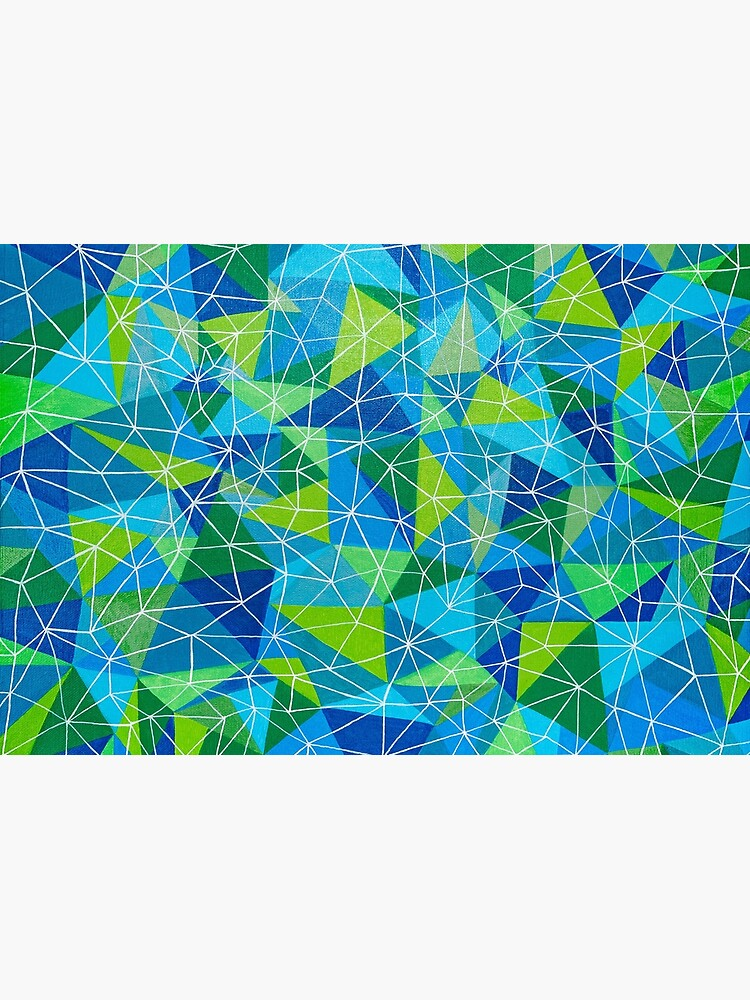 conexión geométrica poli arte de artetbe