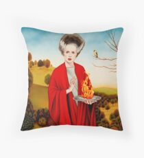 Song of the Goldfinch Throw Pillow