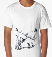 Another Cat Party Long T-Shirt