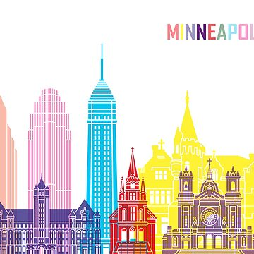 Minneapolis V2 skyline pop by paulrommer