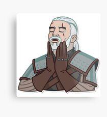 Geralt Of Rivia The Witcher Metal Print