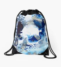 Sea Dragon Drawstring Bag