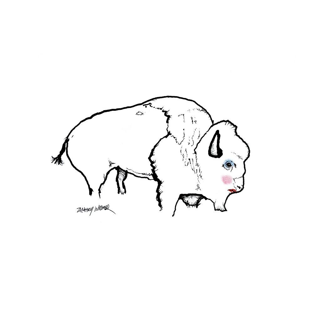 Buffalo Drag Queen by Zach Woomer