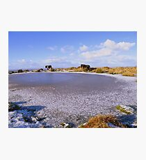 Dartmoor: No Water Today ! Photographic Print