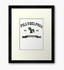 MLP FiM: Fillydelphia Framed Print