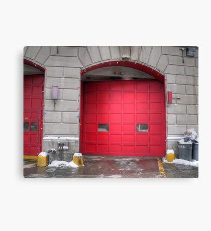 fire house Canvas Print