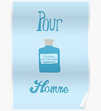 Pour Homme Poster