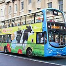 """""""Big Days Out' Cow Bus - Go North East Double Decker by The Transport Lens"""