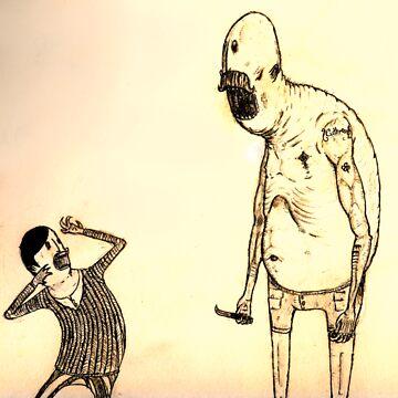 The child slasher by Benlyksmonsters