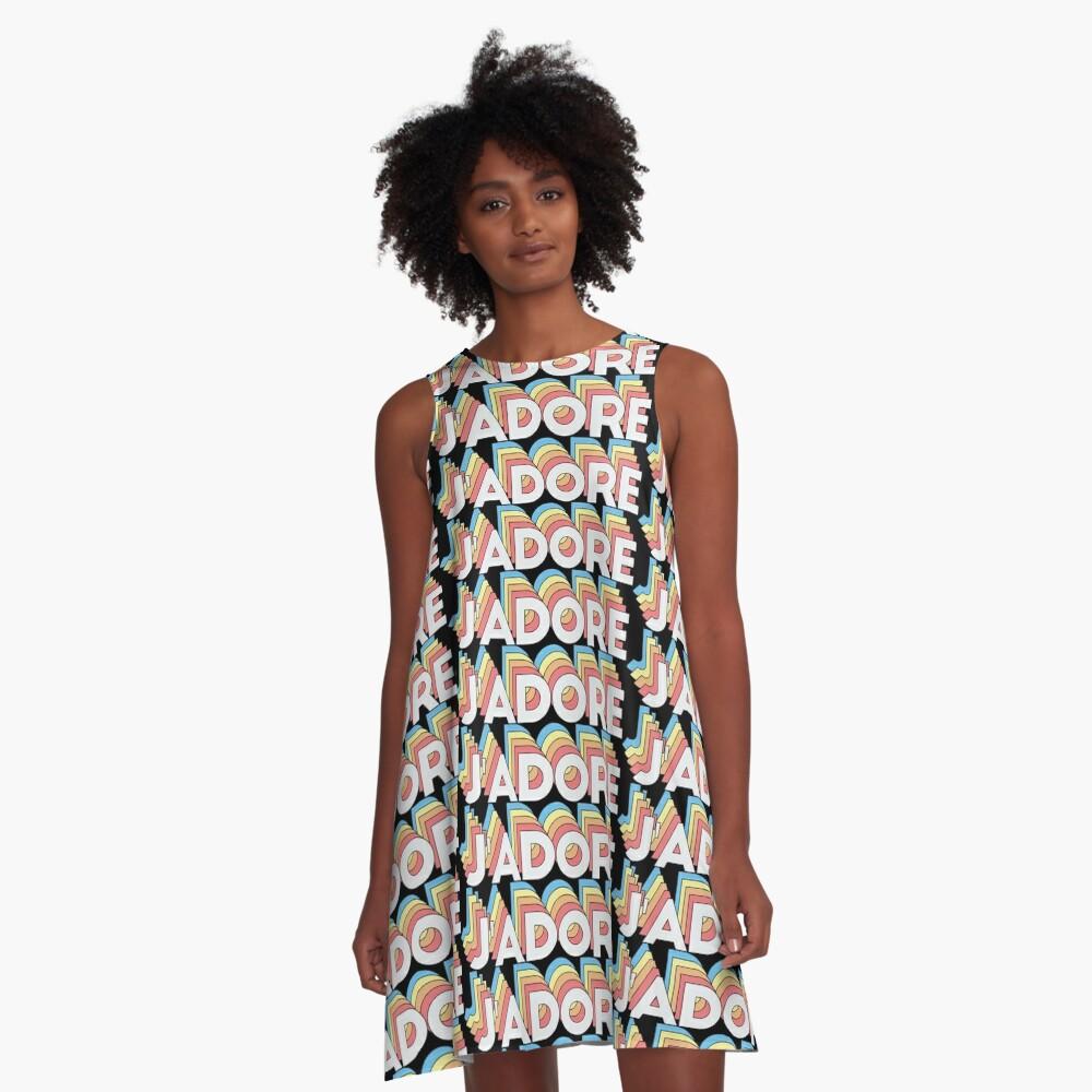 J'adore A-Linien Kleid