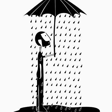 Umbrella guy by kefran