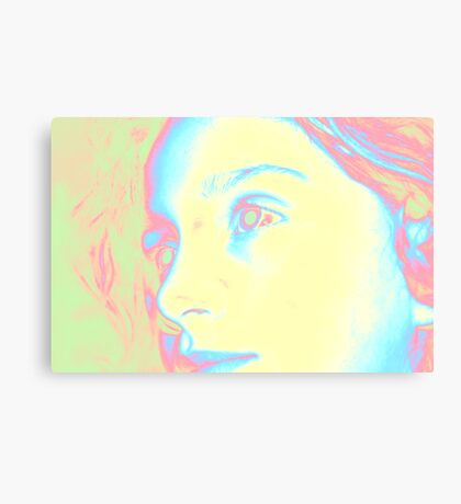 A Coloured Thought Canvas Print