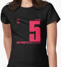 Letzter Zug nach Trancentral 5 Pure Trance Tailliertes T-Shirt