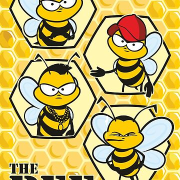 The Bee Team by jamieleeart