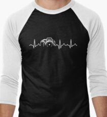 Photographer T-Shirt - Heartbeat Men's Baseball ¾ T-Shirt