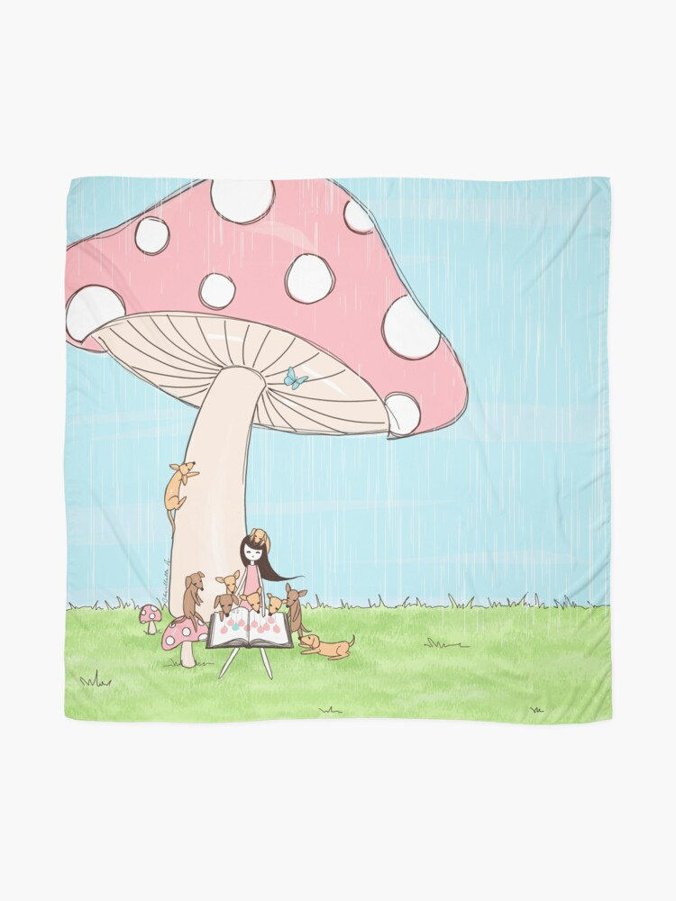 Alternate view of Under The Mushroom Scarf