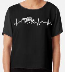 Photographer T-Shirt - Heartbeat Chiffon Top