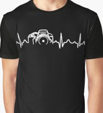 Photographer T-Shirt - Heartbeat Graphic T-Shirt