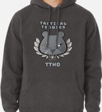 Tactical Teddies ® logo and TTHQ crest Pullover Hoodie