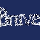 brave in blue and white by RavensLanding