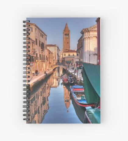 Rio and Church of St. Barnaba Spiral Notebook