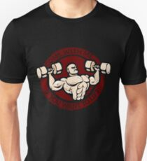 follow me if you want to lift Unisex T-Shirt