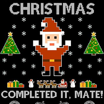 Ugly Christmas Gamer by jamescrowe1987