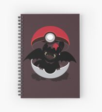 How To Catch Your Dragon Spiral Notebook