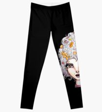 Gingerbread Witch Leggings