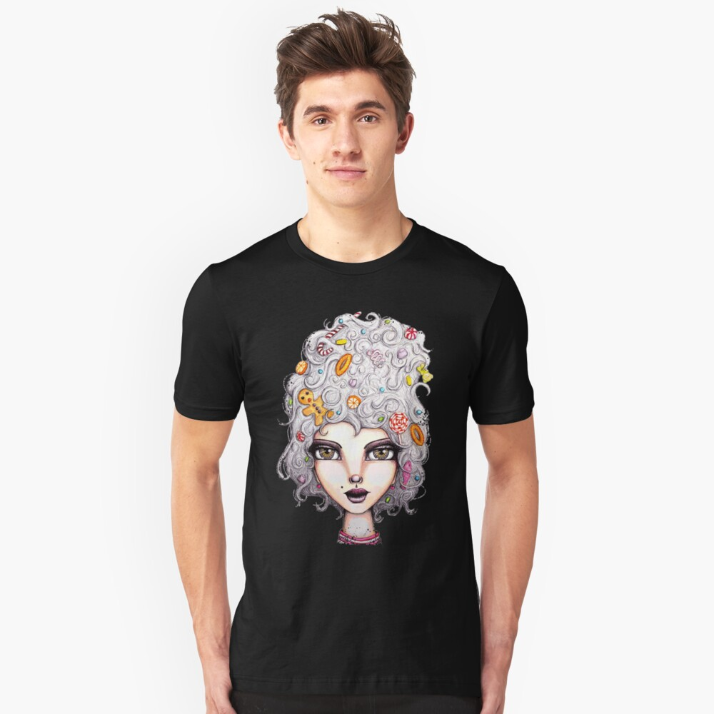Gingerbread Witch Unisex T-Shirt Front