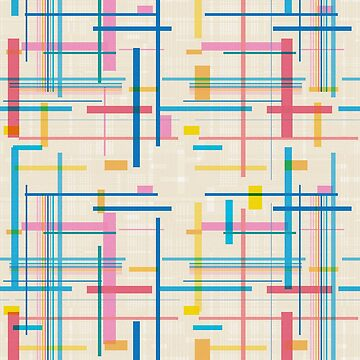 Geometric Fall In Line Glitch by tobiasfonseca