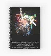 Be joyful in Thee Spiral Notebook