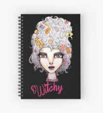 Feeling Witchy Today Spiral Notebook