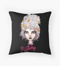Feeling Witchy Today Throw Pillow