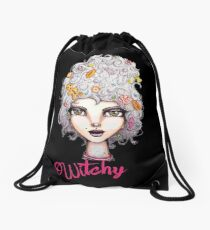 Feeling Witchy Today Drawstring Bag