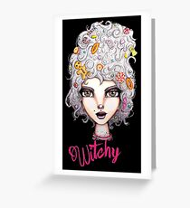 Feeling Witchy Today Greeting Card