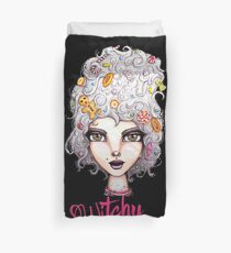 Feeling Witchy Today Duvet Cover