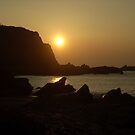 Sunset - Ilfracombe, North Devon by Leyh