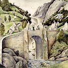 Túrin's First Sight of the Eldar by Peter Xavier Price