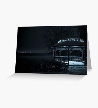 A Sky of Blue Velvet Greeting Card