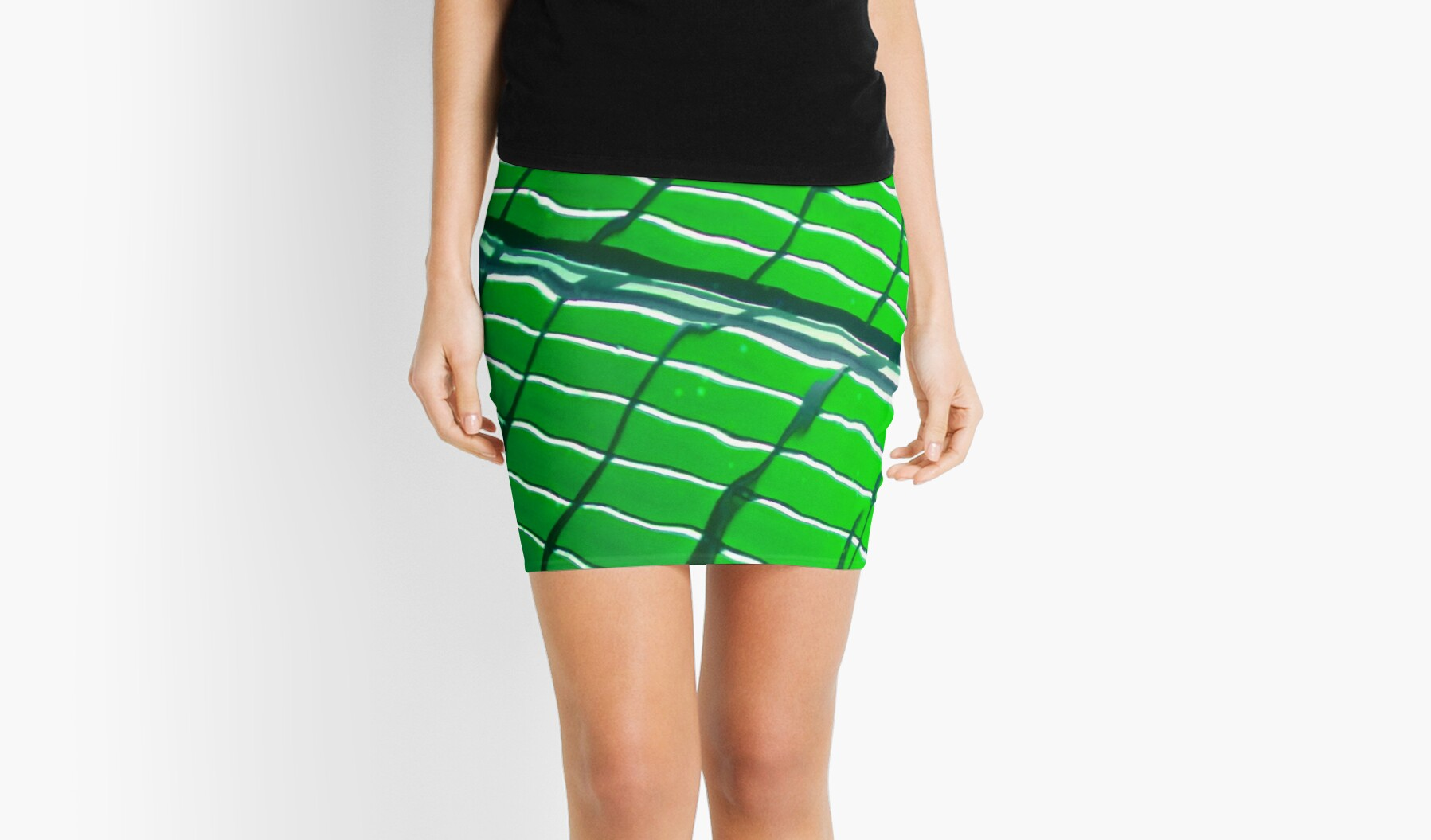 Abstract Design-Green by Tamarra