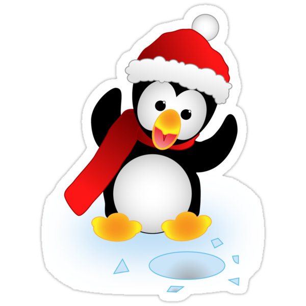 Christmas Penguin  by James  Smart