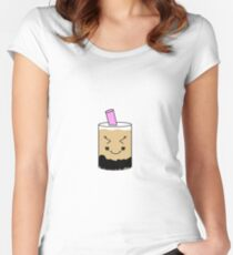Bubble Tea  Women's Fitted Scoop T-Shirt