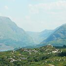 Llanberis Pass from Outside Llanrug by LADeville