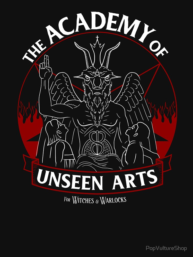The Academy of Unseen Arts by PopVultureShop