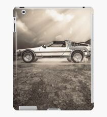 1985 Time Machine iPad Case/Skin