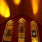 Christchurch - window trio by SNAPPYDAVE